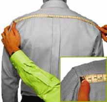 Schulterbreidte Masshemd